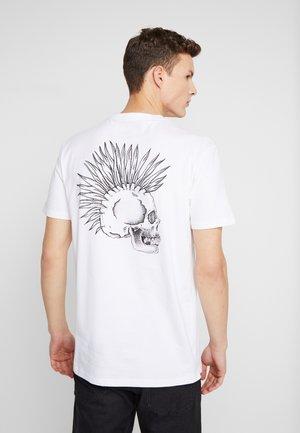DRUMTHERAPYSS - Camiseta estampada - white