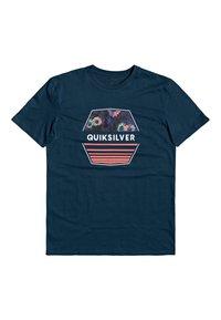 Quiksilver - DRIFTAWAYSS - Print T-shirt - majolica blue - 0