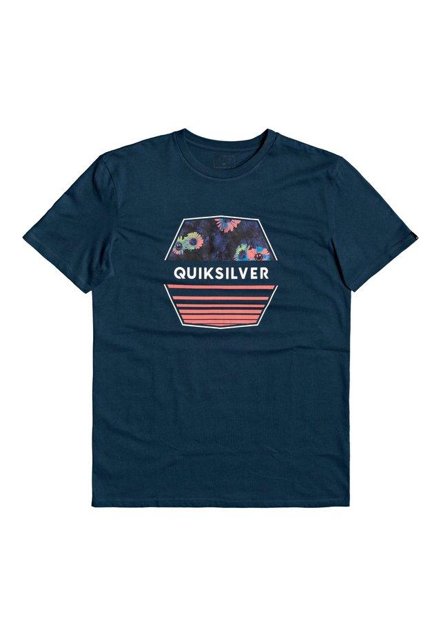 DRIFTAWAYSS - T-shirt print - majolica blue