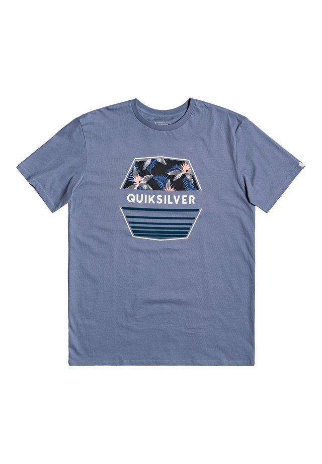 DRIFTAWAYSS - T-shirt imprimé - stone wash