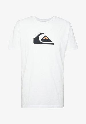 COMPLOGOSS - Camiseta estampada - white