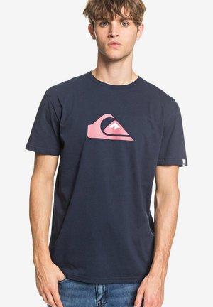 COMPLOGOSS - Print T-shirt - navy