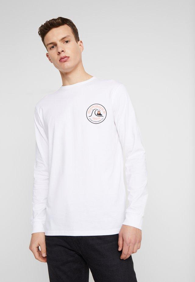 CLOSECALLLS - Maglietta a manica lunga - white