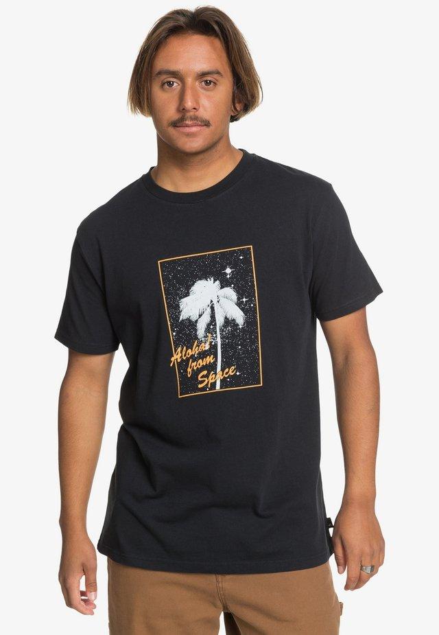 ALOHASS - T-Shirt print - black