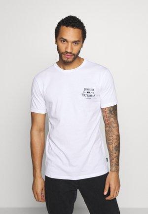 THEHIGHROAD - Camiseta estampada - white