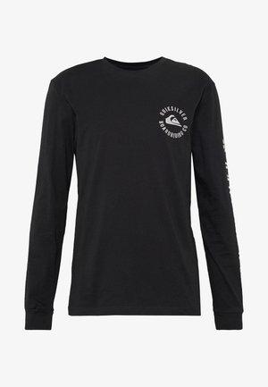 SKULLED RETHIN - T-shirt à manches longues - black