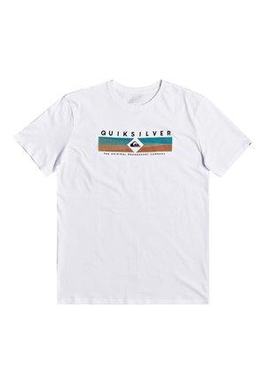 QUIKSILVER™ DISTANT FORTUNE - T-SHIRT FÜR MÄNNER EQYZT05764 - T-shirt imprimé - white