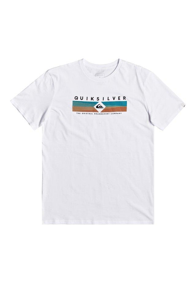 QUIKSILVER™ DISTANT FORTUNE - T-SHIRT FÜR MÄNNER EQYZT05764 - T-Shirt print - white