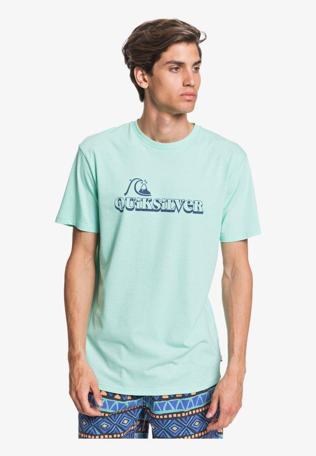 QUIKSILVER™ LOST SPARKS - T-SHIRT FÜR MÄNNER EQYZT05818 - Print T-shirt - beach glass
