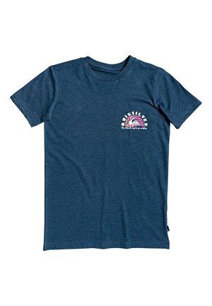 QUIKSILVER™ MAGIC TIDE - T-SHIRT FÜR JUNGEN 8-16 EQBZT04169 - Print T-shirt - majolica blue