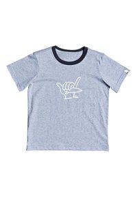 Quiksilver - T-shirt imprimé - light blue - 0