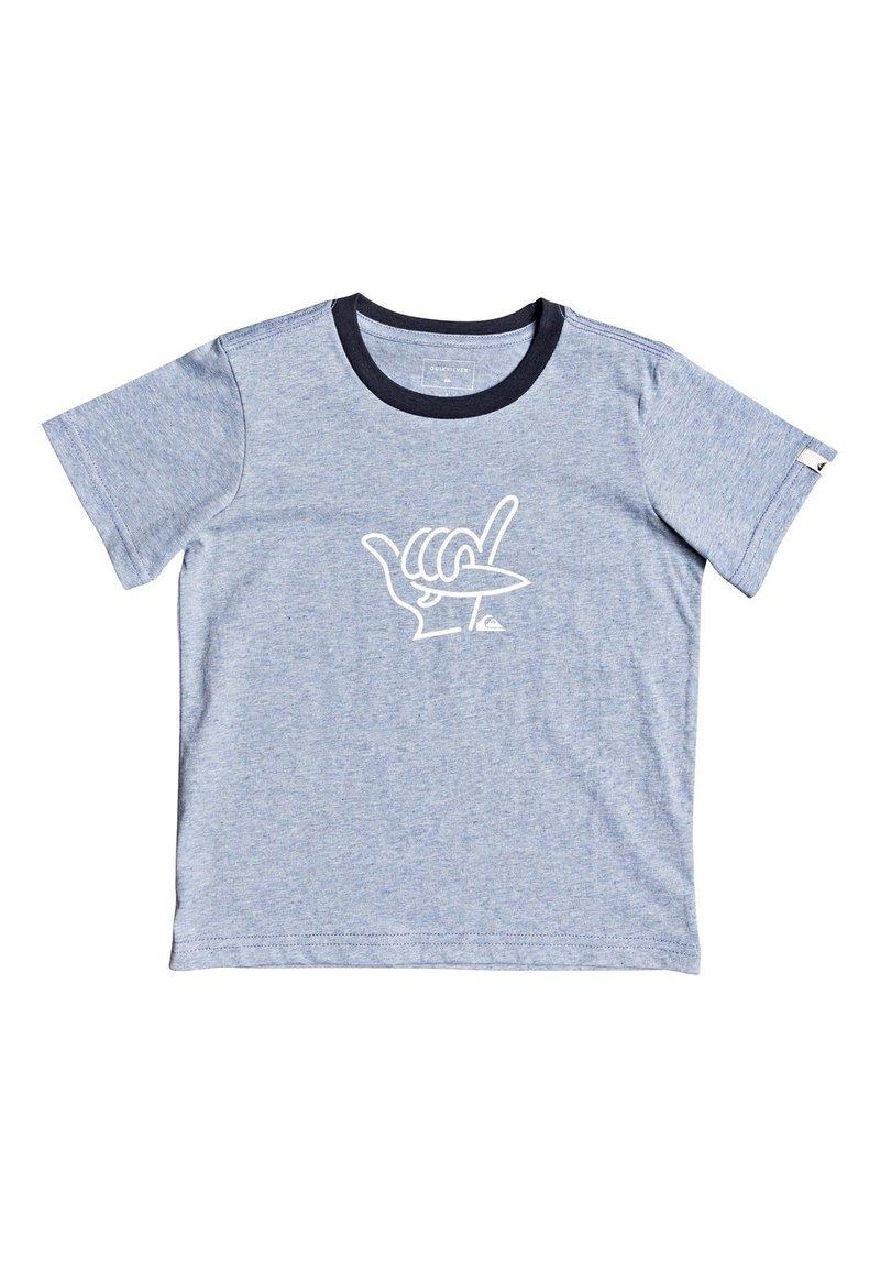 Quiksilver - T-shirt imprimé - light blue