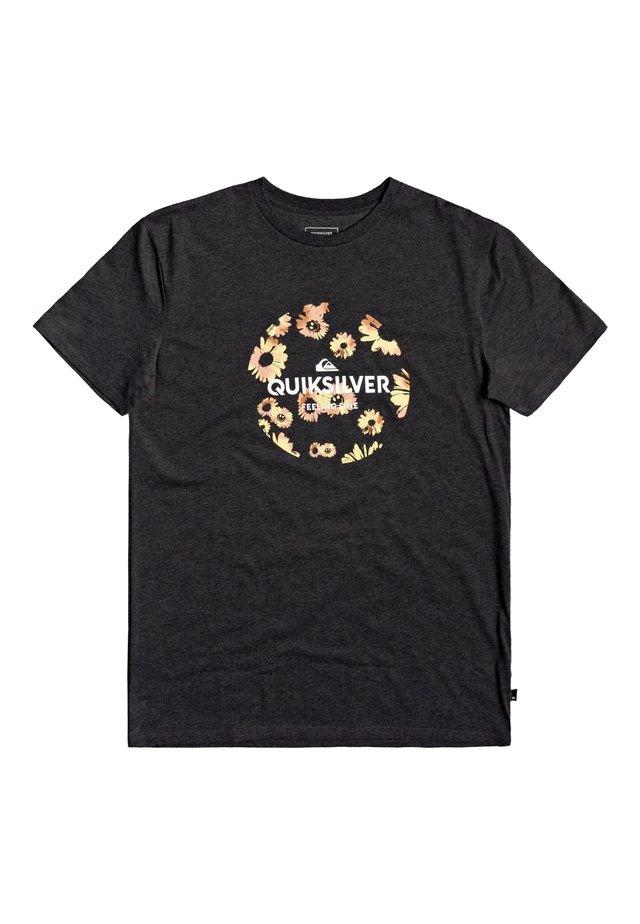 QUIKSILVER™ SUMMERS END - T-SHIRT FÜR MÄNNER EQYZT05768 - Print T-shirt - charcoal heather