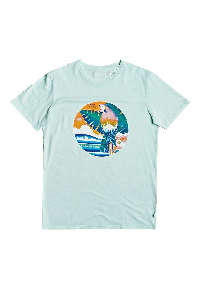 QUIKSILVER™ ABOVE THE SUN - T-SHIRT FÜR MÄNNER EQYZT05799 - Print T-shirt - beach glass