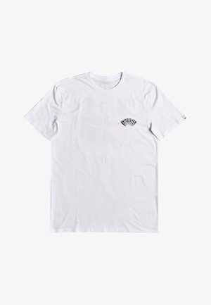 QUIKSILVER™ WET SPARK - T-SHIRT FÜR MÄNNER EQYZT05766 - T-shirt imprimé - white