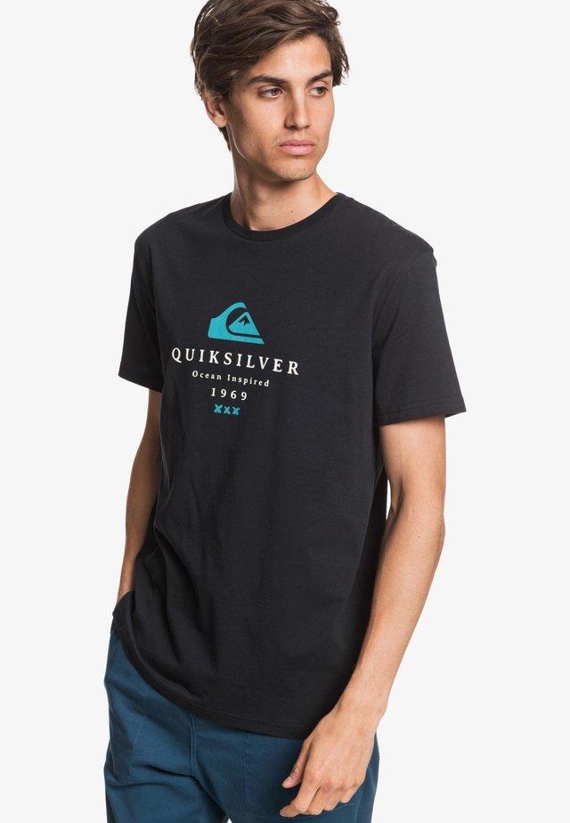 FIRST FIRE - T-Shirt print - black