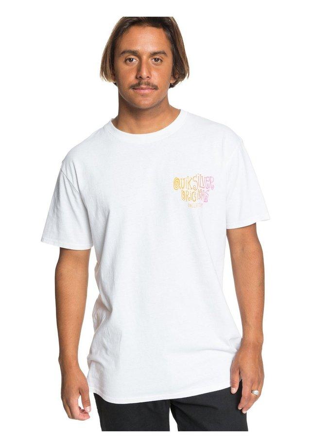 ORIGINALS NEON MELT  - T-Shirt print - white