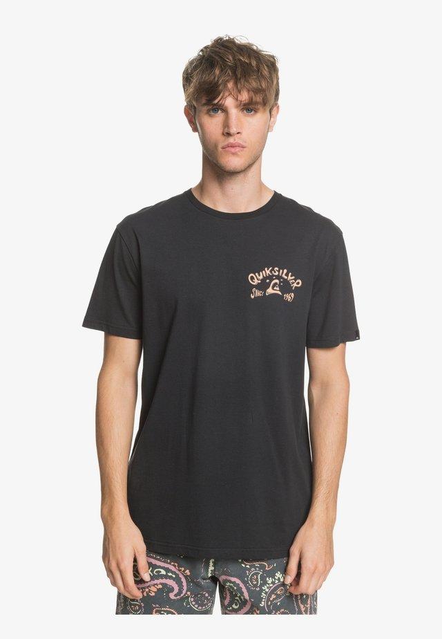 LULLABY BEACH  - T-Shirt print - black