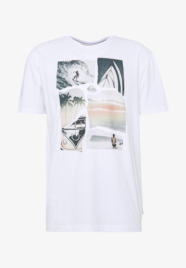 TORN APART - T-Shirt print - white
