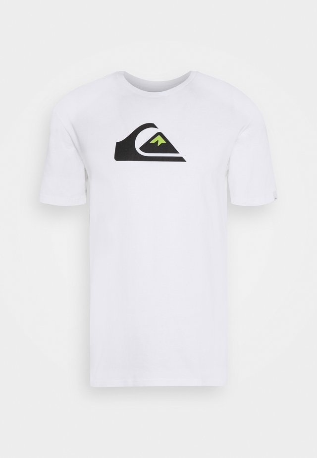 COMP LOGO - T-shirt con stampa - white