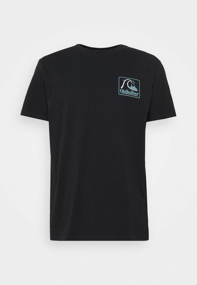 BEACH TONES - T-Shirt print - black