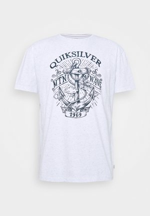 QUIET DARKNESS  - Camiseta estampada - white
