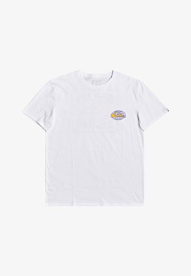 ROCK N STORMY  - Print T-shirt - white