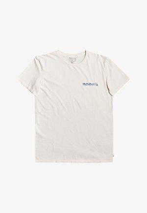 SUN DAMAGE - T-shirt print - snow white