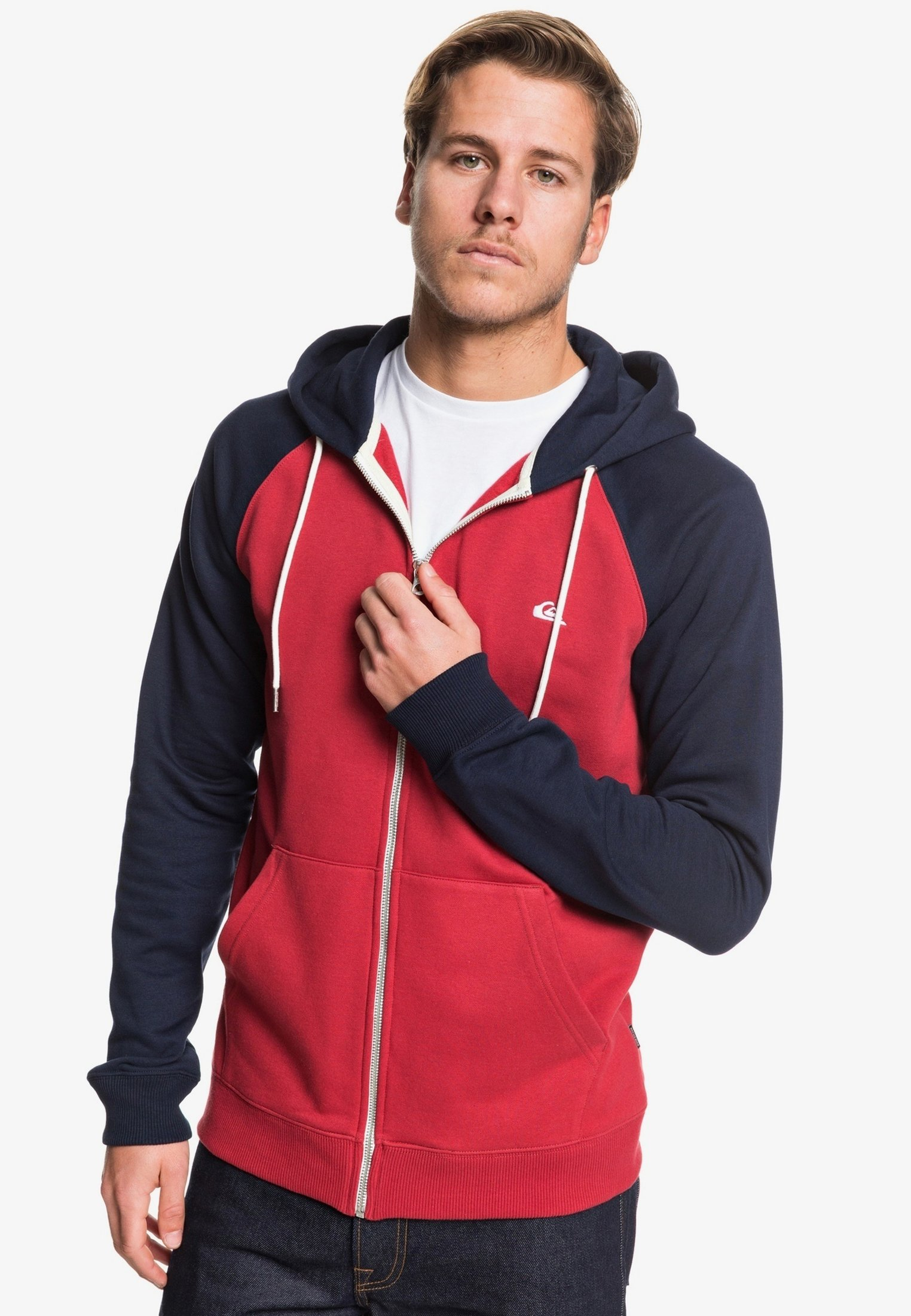 Quiksilver EVERYDAY ZIP- Übergangsjacke mottled red