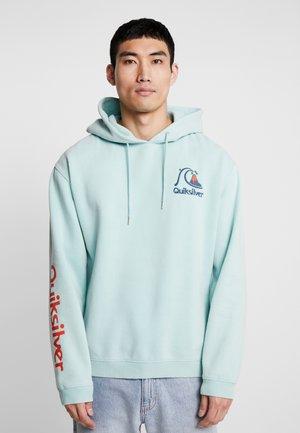 Hoodie - pastel turquoise