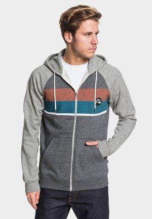REGULAR FIT - Zip-up hoodie - dark grey heather