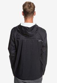 Quiksilver - ADAPT - Waterproof jacket - black - 2