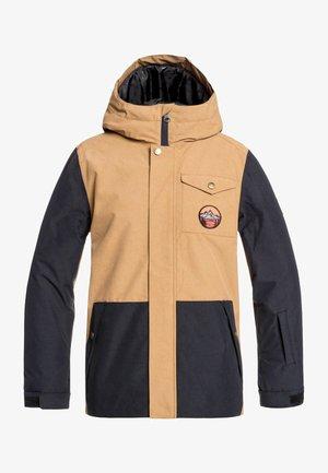 RIDGE - Snowboardjas - brown