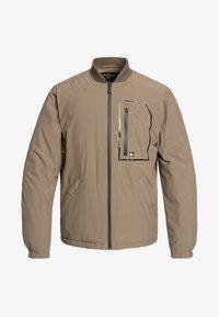 Quiksilver - HARRISON - Waterproof jacket - khaki - 0