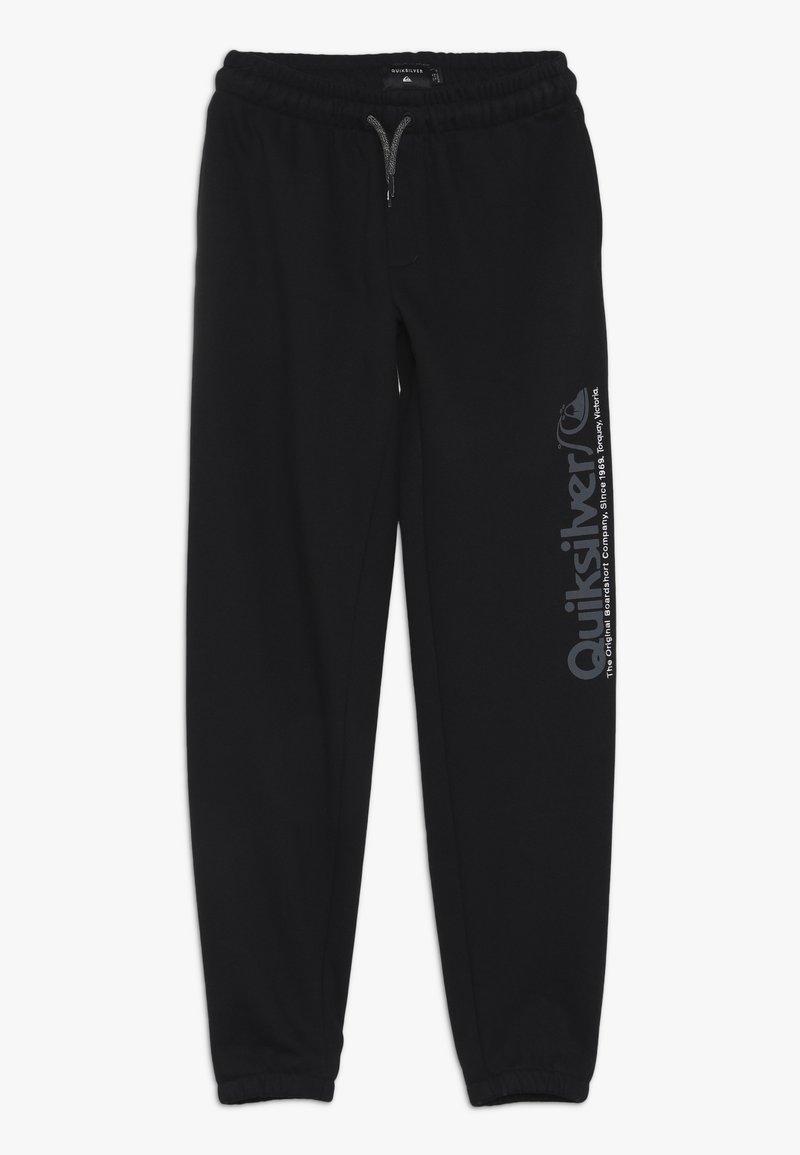 Quiksilver - TRACKPANT SCREEN YOUTH - Pantalon de survêtement - black