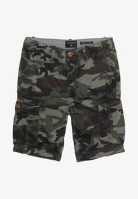 Quiksilver - CRUCIAL BATTLE YOUTH - Reisitaskuhousut - green - 4
