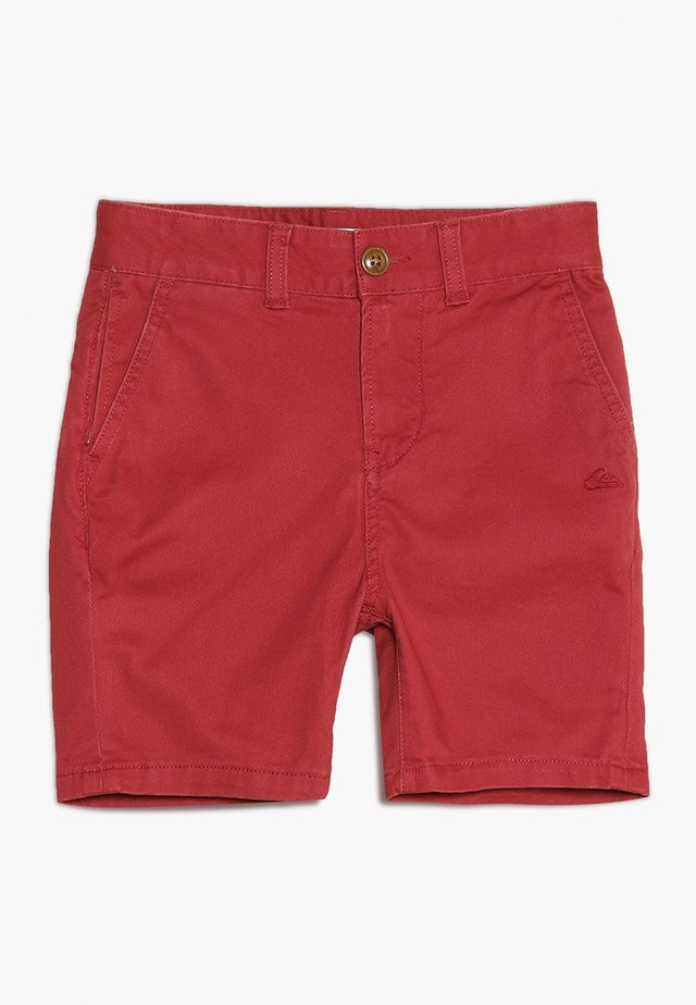 KRANDY - Shorts - brick red