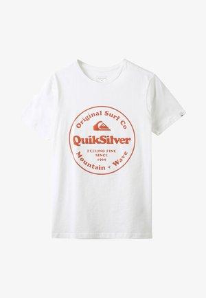 SECRET INGREDIENT - T-shirt print - white
