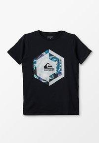 Quiksilver - T-shirt imprimé - black - 0