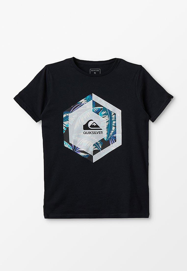 Quiksilver - T-shirt imprimé - black