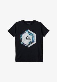 Quiksilver - T-shirt imprimé - black - 2