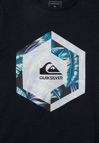 Quiksilver - T-shirt imprimé - black - 3