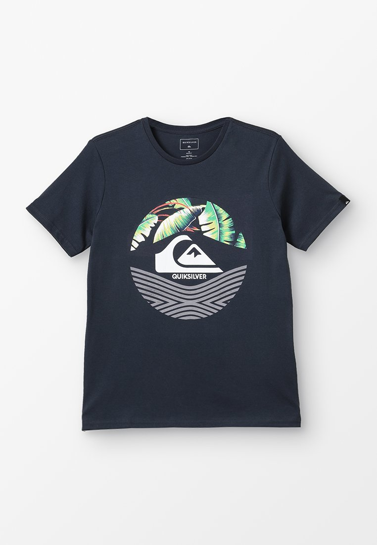 Quiksilver - STOMPED ON - T-shirts print - blue nights
