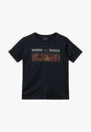 THE JUNGLE YOUTH - T-shirt imprimé - black