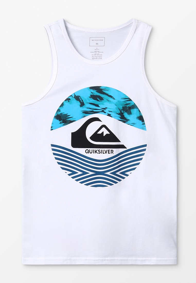 Quiksilver - STAMPED TANK - Top - white