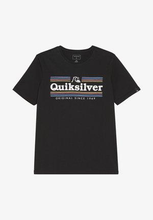 GET BUZZY  - T-shirt imprimé - black