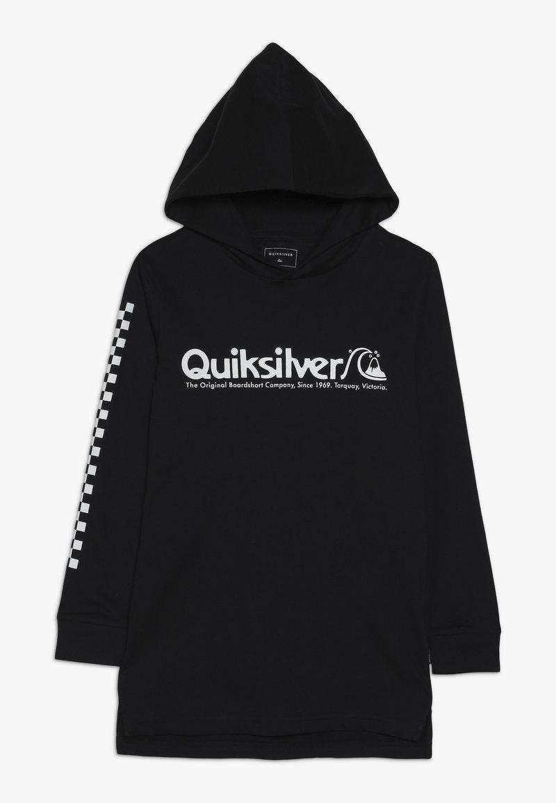 Quiksilver - CHECKERS MATE HOODIE  - Pitkähihainen paita - black