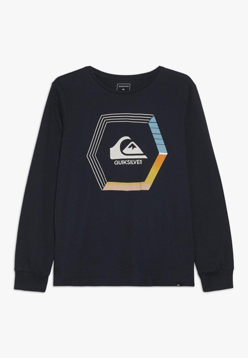 Quiksilver - BLADE DREAMS - Langærmede T-shirts - sky captain