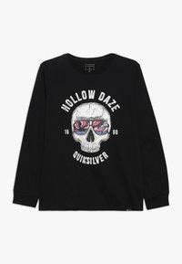Quiksilver - HOLLOW DAYZ - Pitkähihainen paita - black - 0