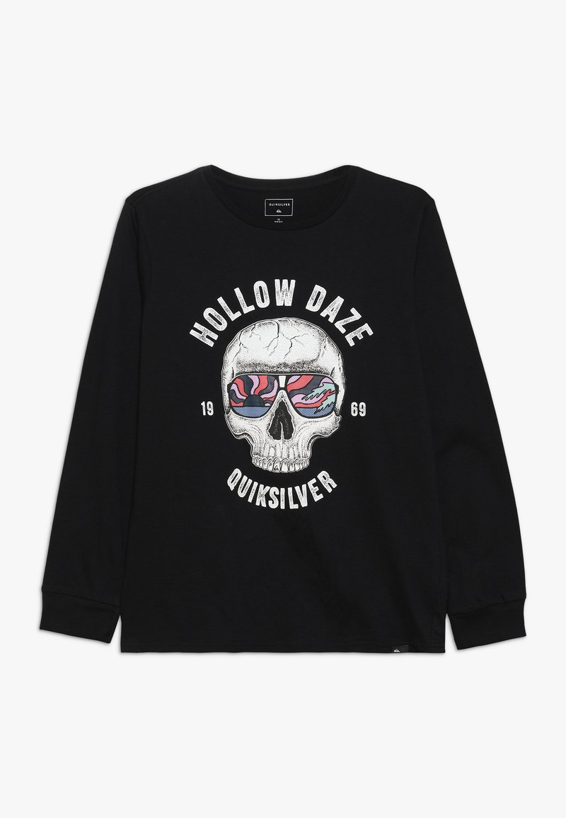 Quiksilver - HOLLOW DAYZ - Pitkähihainen paita - black